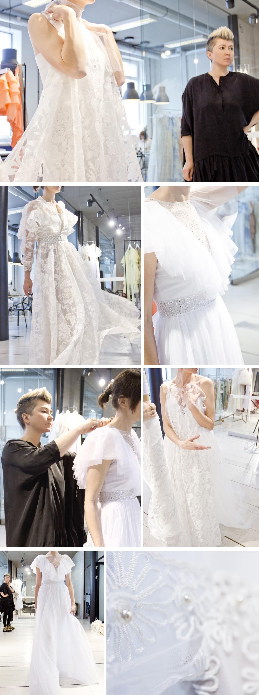 524f2be3a4 Wszystkie suknie ślubne są szyte na miarę w showroomie projektantki